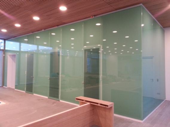 Badkamer Glazen Muur : Glazen wanden voor woning of kantoor laten maken